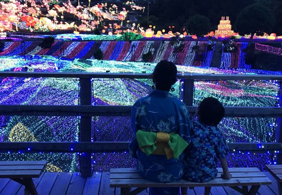 入園料がお得に!7/13(土)~「浴衣de夏イルミ」開催