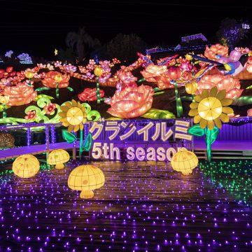 伊豆高原グランイルミは営業しております。