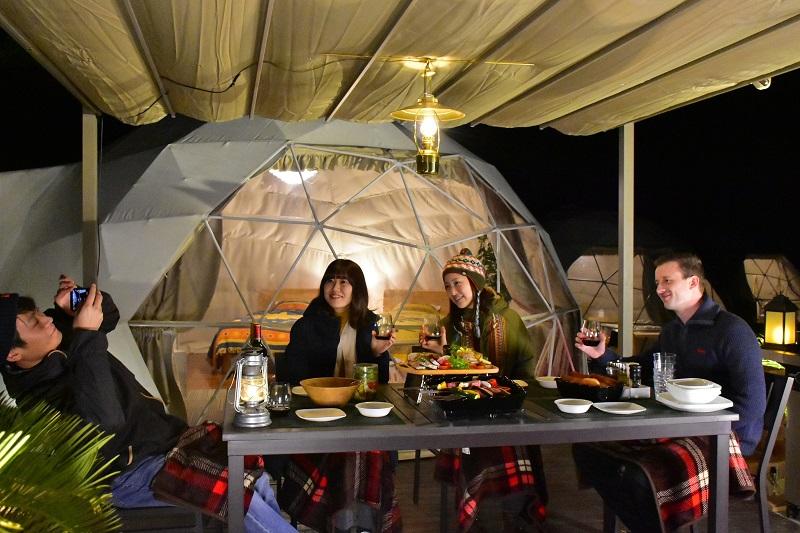 伊豆シャボテン動物公園グループオフィシャルホテルにグランピング施設がオープン!